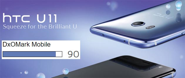 HTC U11 vanta la fotocamera per smartphone migliore mai testata da DxOMark