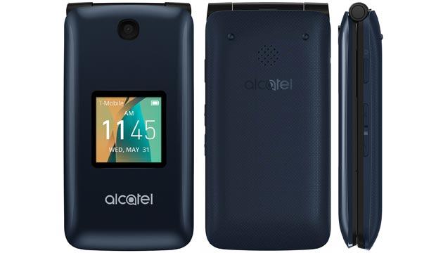 Alcatel Go Flip, telefono a conchiglia con schermo da 2.8 pollici e fotocamera da 5MP