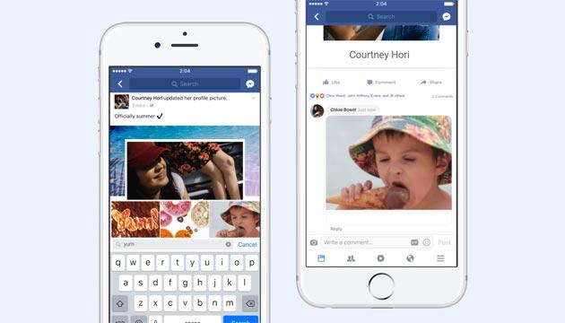Facebook introduce nei commenti le GIF che compiono 30 anni