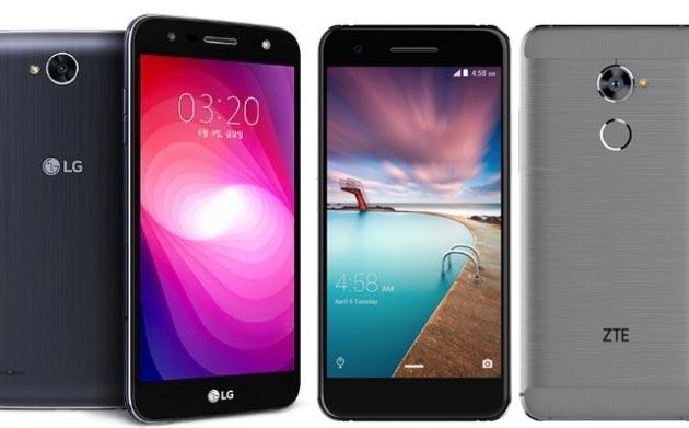 LG X500 e ZTE V870, smartphone Android di fascia media con ampia batteria