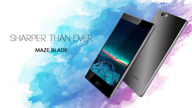 Maze Blade, smartphone in offerta a 90 euro