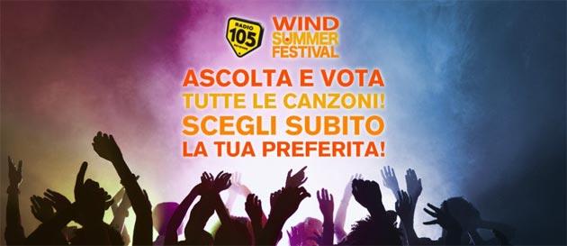Wind Summer Festival 2018 a Roma dal 22 al 25 Giugno