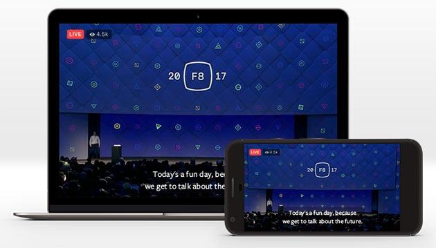 Facebook Live, video in diretta anche con sottotitoli