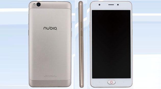 Nubia NX907J rivelato da TENAA, smartphone Android economico da 5.5 pollici HD