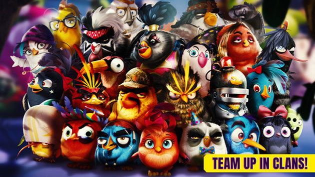Rovio lancia Angry Birds Evolution per iOS e Android