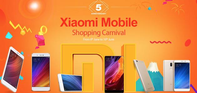 Xiaomi Shopping Carnival, in sconto Smartphone, Tablet, Smartwatch e molto altro