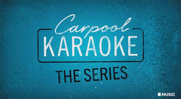 Apple Music, Trailer dello show Carpool Karaoke: The Series disponibile da Agosto