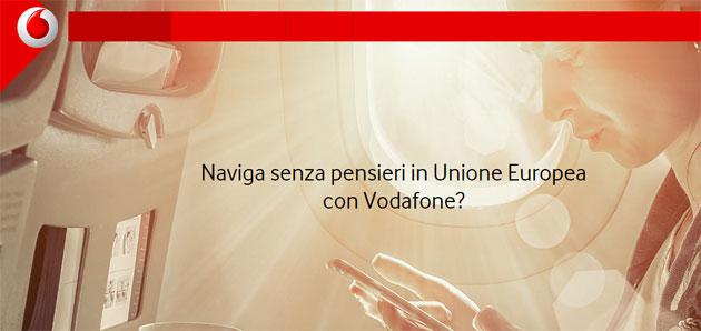 Vodafone limita i Giga da utilizzare in Europa in roaming: quanti GB si possono usare