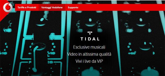 TIDAL gratis con Vodafone anche nel 2020: come attivare