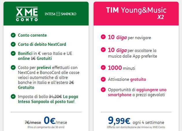 TIM e Intesa Sanpaolo lanciano iniziativa per clienti Under 30