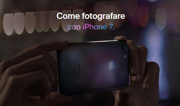 Come Fotografare con iPhone 7, Video Tutorial Ufficiali Apple