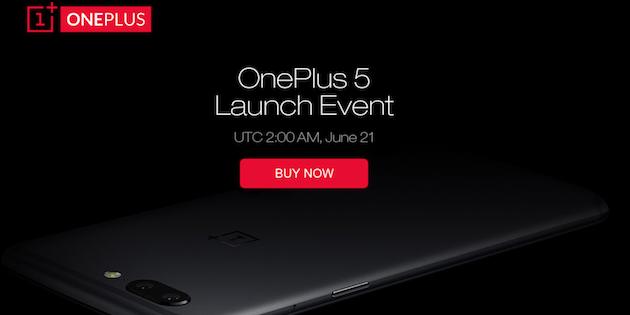 OnePlus 5 in preordine a prezzo scontato