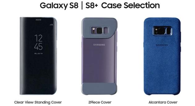 Galaxy S8, smartphone protetto con le Cover Samsung ufficiali