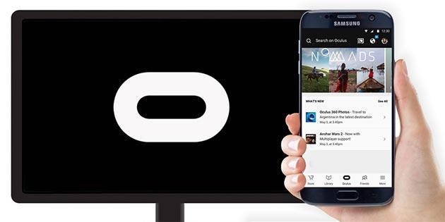 Oculus app per Samsung Gear VR supporta Chromecast