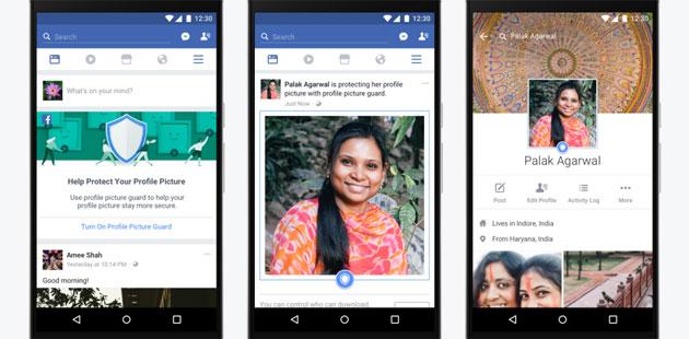 Facebook protegge le immagini dei profili da usi impropri