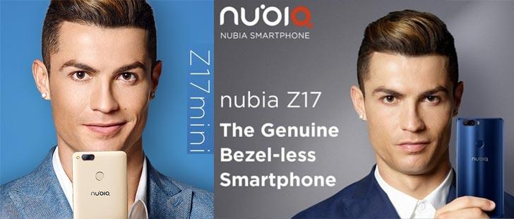 Nubia Z17, Z17 Mini e Z17 Lite ufficiali con doppia fotocamera