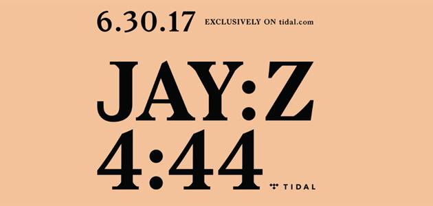 Tidal suona in esclusiva 4:44, 13esimo album di Jay-Z