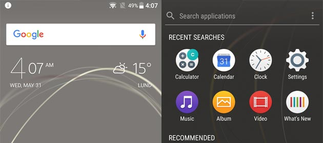 Sony Xperia Home beta disponibile su Google Play