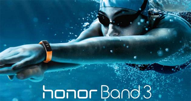 Honor Band 3, SmartBand resistente in acqua con monitoraggio della frequenza cardiaca continuo