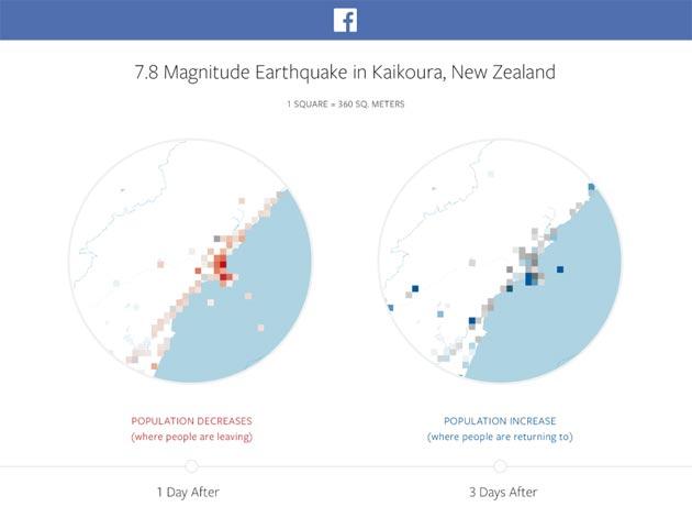 Facebook, mappe aiuteranno durante i disastri naturali