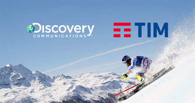 Mobile Broadcaster, Tim e Discovery Communications insieme per i giochi olimpici 2018
