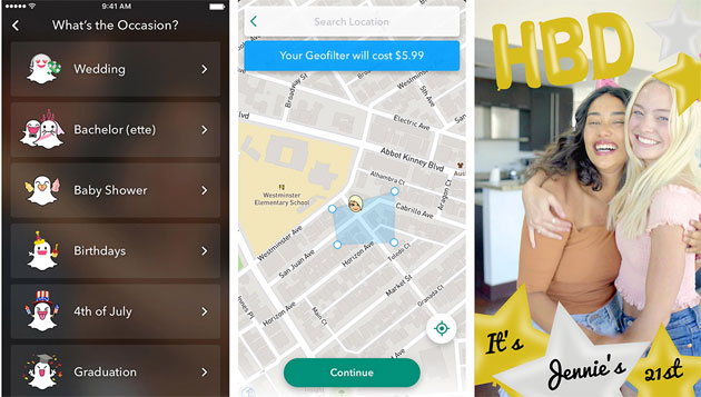 Snapchat: Multi-Snap, Geofilter, Filtri Voce, Backdrops e Paperclip