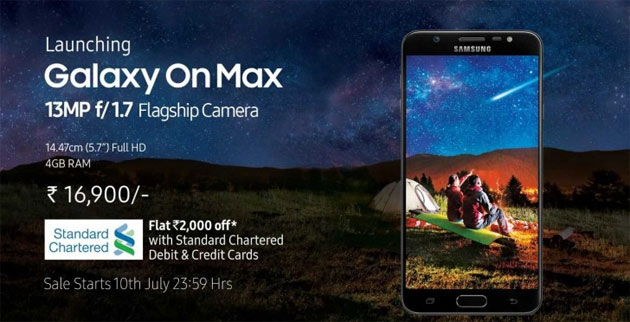 Samsung Galaxy On Max ufficiale, un Galaxy J7 Max rinominato