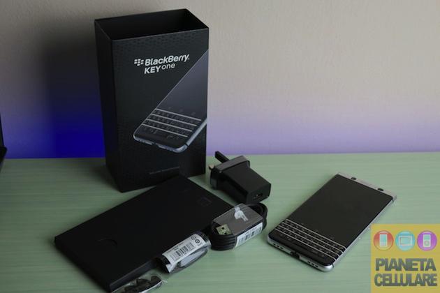 Recensione BlackBerry KeyOne, il ritorno della tastiera fisica