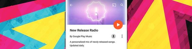 Google Play Musica, Radio personale con sempre nuovi brani disponibile per tutti gli utenti