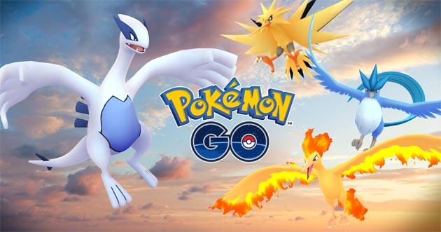 Pokemon GO, primi Pokemon Leggendari arrivati dopo il primo Pokemon Fest