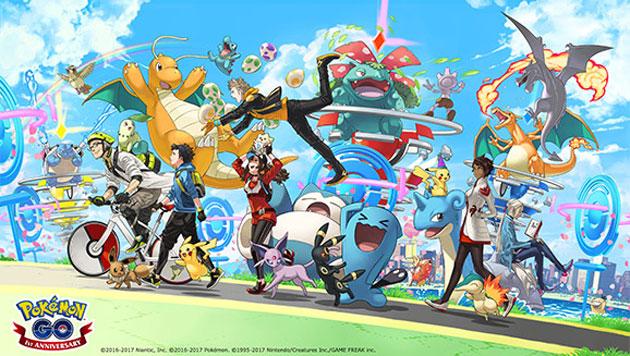 Pokemon GO festeggia il suo secondo compleanno con un Pikachu speciale
