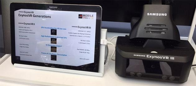 Exynos VR III, Samsung annuncia visore VR standalone prototipo con tracciamento occhi