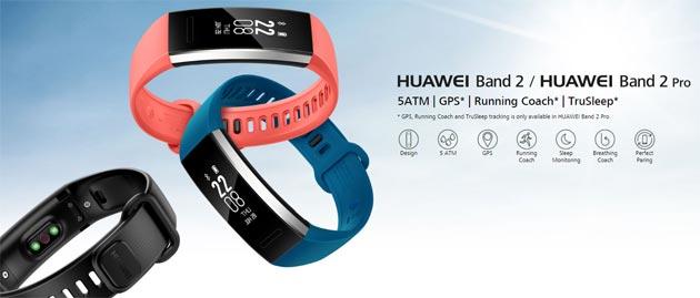 Huawei Band 2 Pro con misurazione battito cardiaco e ossigeno VO2Max in Italia da Settembre