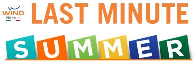 Wind Last Minute Summer 2017: Giga e Smartphone a prezzo scontato