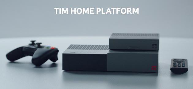 TIM Home Platform, nuovi decoder TIM BOX e modem TIM HUB