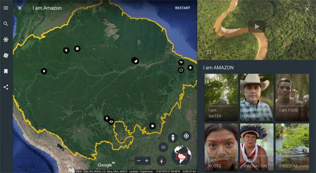 Google Earth piu' social con le storie in arrivo
