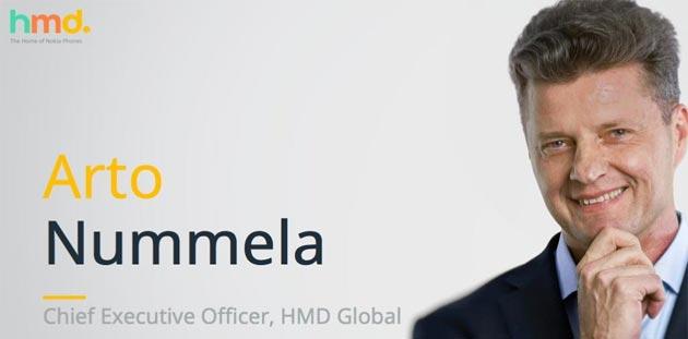 HMD Global, Arto Nummela lascia la societa' dal ruolo di Amministratore delegato