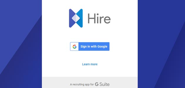 Google Hire, nuovo servizio per reclutare personale con G Suite