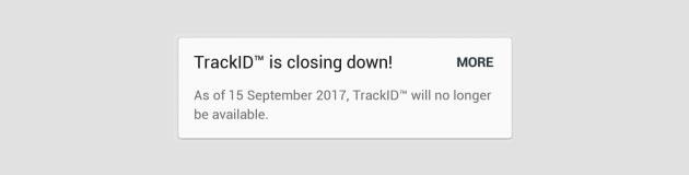 Sony chiude TrackID a settembre, il suo servizio per identificare musica