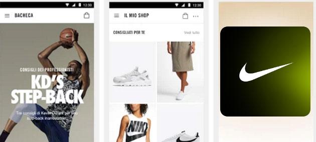 Nike App in Italia