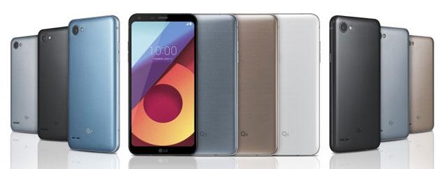 Foto LG Q6 si aggiorna ad Android 8 Oreo