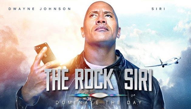 The Rock x Siri, il corto di Apple con Dwayne Johnson