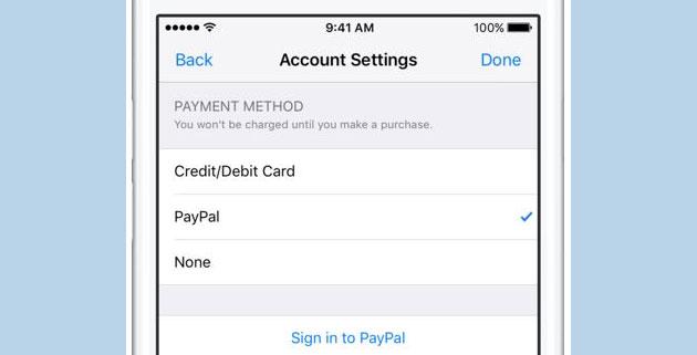Come pagare con Paypal su App Store, iTunes e Apple Music