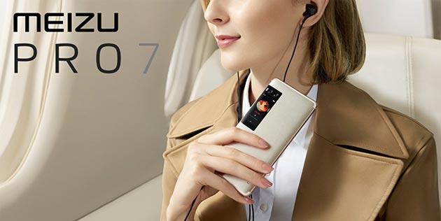 Meizu Pro 7 e Pro 7 Plus ufficiali con display secondario e doppia fotocamera posteriori