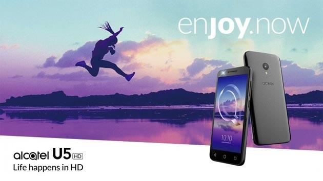 Alcatel U5 HD: lo smartphone entry level adatto a tutti