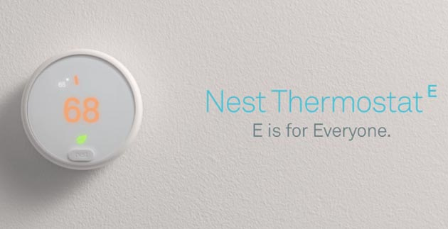 Nest Thermostat E, termostato smart economico per la massa