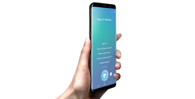 Foto Samsung Bixby Voice disponibile in Italia (in inglese)