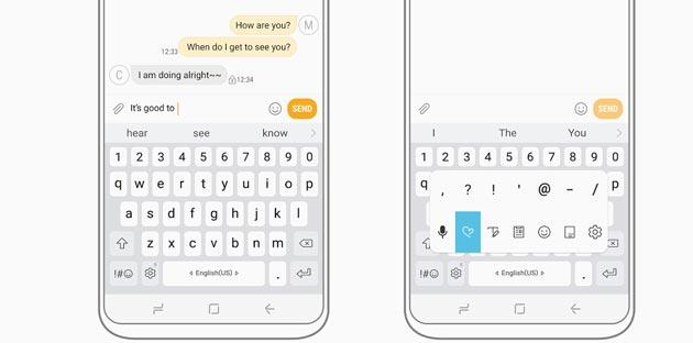 Samsung, tastiera ufficiale per Galaxy nel Play Store