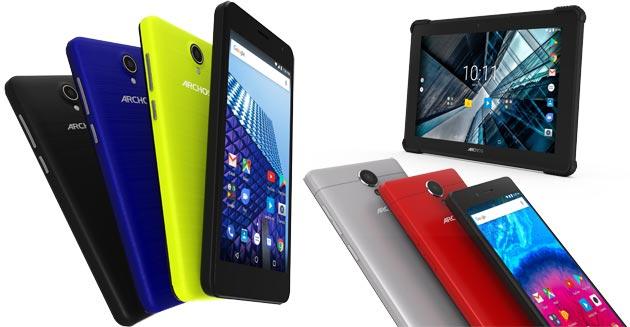 Archos a IFA 2017 con sei smartphone, un tablet (Access, Core e Sense) e tre mezzi di trasporto elettrici (Bolt Junior, Hoverboard X, SK8)