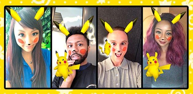 Snapchat, filtro Pikachu disponibile nei Ritratti